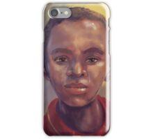 The Orphan by Amatsiko Organisation Uganda iPhone Case/Skin