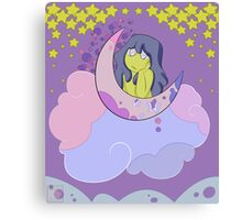 Starry Eyed in the Face of Sadness Canvas Print