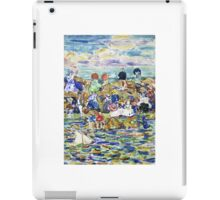 Maurice Brazil Prendergast , IDLERS ON THE BEACH iPad Case/Skin