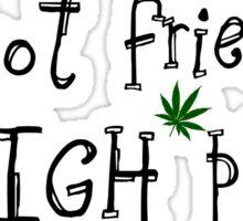 Weed Reggae Cool Sticker
