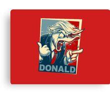 Donald Trump !  Canvas Print