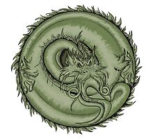 japanese dragon  by tosnos