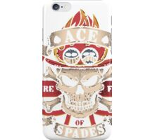 Ace One Piece iPhone Case/Skin