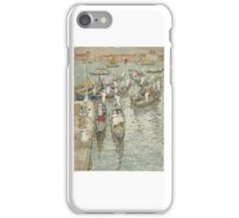 Maurice Brazil Prendergast, American (St. Johns, Newfoundland, Canada  - New York, NY)  Title Summer in Venice iPhone Case/Skin