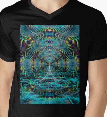 Welcome to the Matrix Mens V-Neck T-Shirt
