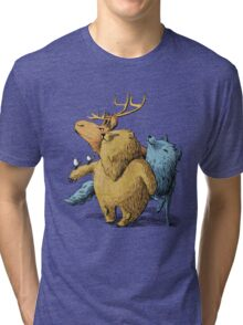 Five friends Tri-blend T-Shirt