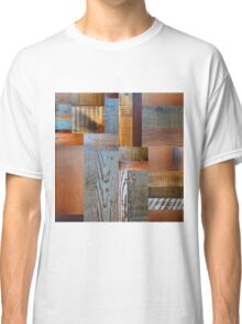 Reclaimed Wood Abstract 2.0 Classic T-Shirt