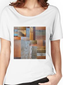 Reclaimed Wood Abstract 2.0 Women's Relaxed Fit T-Shirt