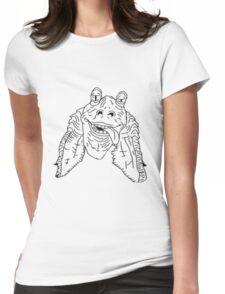 Meesa Jar Jar Binks.  Womens Fitted T-Shirt