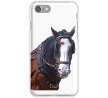 UNA Horse Trammer iPhone Case/Skin