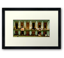 Almost Dry Framed Print