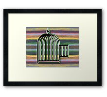 FREE AT LAST Framed Print