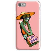 Just Visiting? iPhone Case/Skin