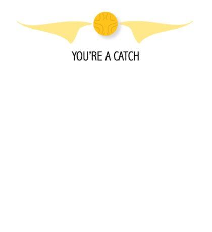 You're a Catch Sticker