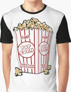 Popcorn is sweet fun Graphic T-Shirt
