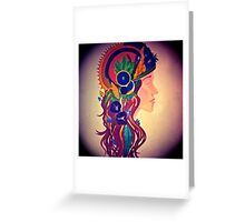 Queen of Pentacles Greeting Card