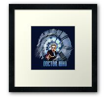 Capaldi - Doctor Who Framed Print