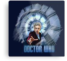 Capaldi - Doctor Who Metal Print