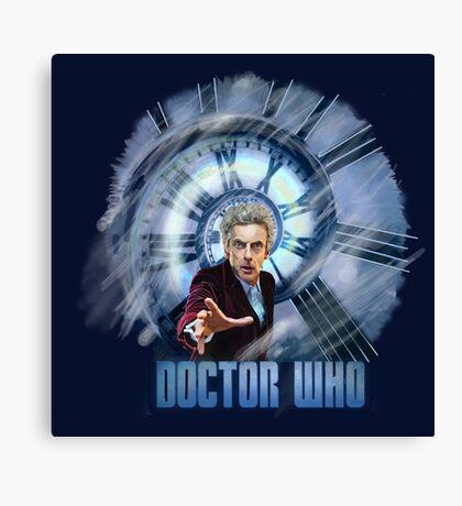Capaldi - Doctor Who Canvas Print
