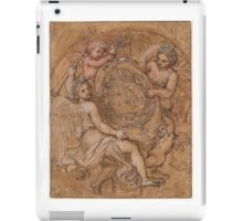 Michel Corneille, the Younger  The Coat of Arms of France and  iPad Case/Skin
