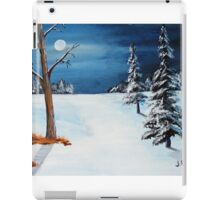 New Moon New Snow iPad Case/Skin