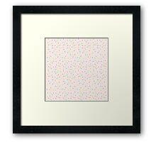 Sprinkles, Please (Pink) Framed Print