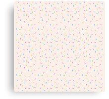 Sprinkles, Please (Pink) Canvas Print