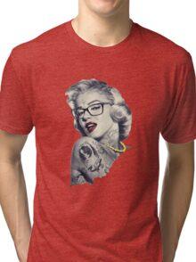 Swag Marilyn Monroe  Tri-blend T-Shirt