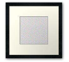 Sprinkles, Please (Light Grey) Framed Print