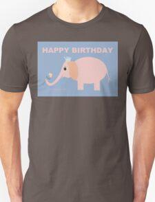 HAPPY BIRTHDAY by ELEPHANT Unisex T-Shirt