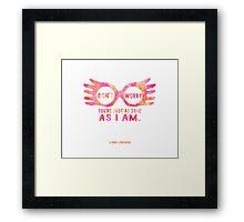 Harry Potter Luna Lovegood Graphic Design Framed Print