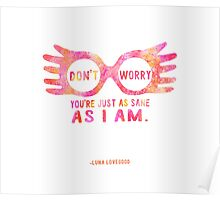 Harry Potter Luna Lovegood Graphic Design Poster