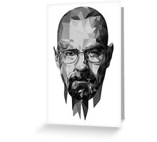 BreakingBad-Face Greeting Card