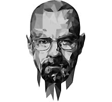 BreakingBad-Face Photographic Print