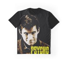 Psycho- Norman Bates Graphic T-Shirt