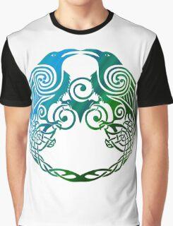 Celtic Crows Graphic T-Shirt