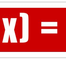F(x) fandom name! MeU (μ) Sticker