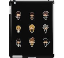 Horror RPG Chibis [Ib, Mad Father, The Witch's House, etc.] iPad Case/Skin