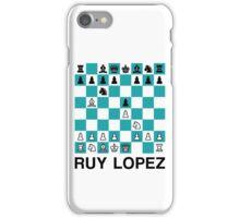 Ruy Lopez iPhone Case/Skin
