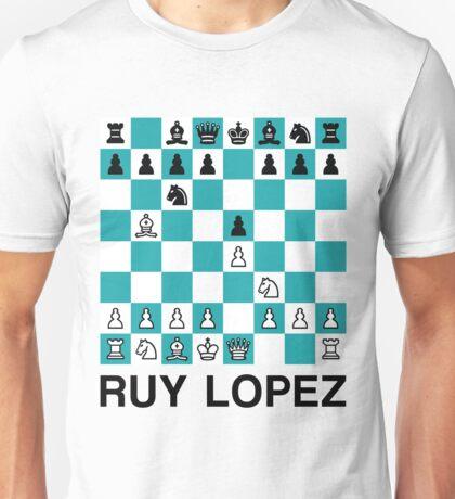 Ruy Lopez Unisex T-Shirt