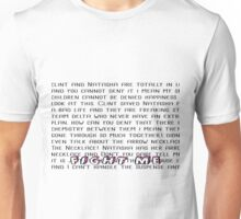Fight Me Clintasha Unisex T-Shirt