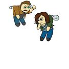 Pinned - Winchester Brothers by jambammer