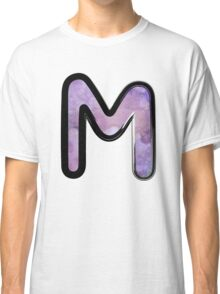 Watercolor - M - purple Classic T-Shirt