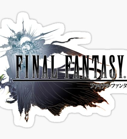 Final Fantasy XV Logo Sticker