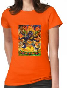 Tibetan Deity Womens Fitted T-Shirt