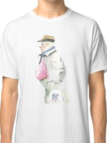 man with sideburns and tesco bag Classic T-Shirt
