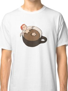 Coffee Bath Classic T-Shirt