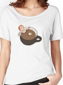Coffee Bath Women's Relaxed Fit T-Shirt