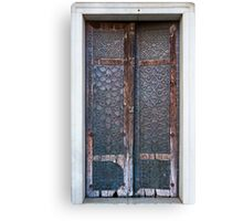 Copper Door  Canvas Print