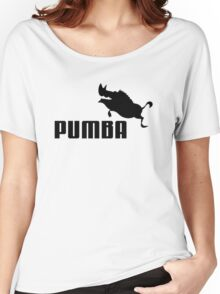 Pumba Women's Relaxed Fit T-Shirt
